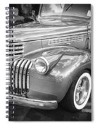 1946 Chevrolet Sedan Panel Delivery Truck Bw Spiral Notebook