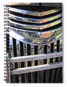1946 Chevrolet Truck Chrome Grill Spiral Notebook