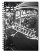 1946 Hudson Super Six Sedan Bw Spiral Notebook