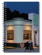 1947 Amoco Gas Station Spiral Notebook
