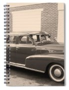 1948 Chevy Spiral Notebook