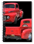 1948 Custom Ford F-100 Pick Up Spiral Notebook