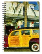 1948 Ford Woody Station Wagon Spiral Notebook