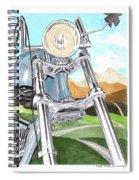 1948 Harley Davidson W L A Spiral Notebook