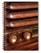 1948 Mantola Radio Spiral Notebook