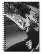 1949 Ford 2 Door Custom Painted Bw    Spiral Notebook