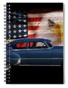 1949 Pontiac Tribute Roger Spiral Notebook
