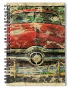 1949 Red Ford Coupe Spiral Notebook