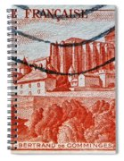 1949 Republique Francaise Stamp Spiral Notebook