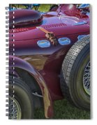 1950 Allard J2 Competition Roadster Spiral Notebook