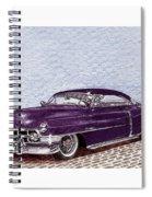 Chopped 1950 Cadillac Coupe De Ville Spiral Notebook