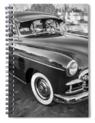 1950 Chevrolet Sedan Deluxe Painted Bw   Spiral Notebook