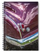 1950 Chevrolet Tailights And Bumper Spiral Notebook