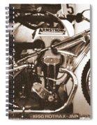 1950 Rotrax-jap Spiral Notebook