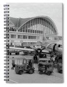1950s 1960s Propeller Airplane Spiral Notebook