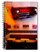 1950s American Diner - Featured In Vehicle Enthusiasts Spiral Notebook
