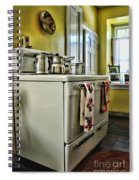 1950's Kitchen Stove Spiral Notebook