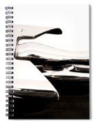 1950s Nash Hood Ornament Spiral Notebook