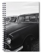 1950's Pontiac By Cathy Anderson  Spiral Notebook