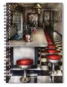 1950's - The Ice Cream Parlor  Spiral Notebook