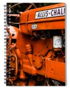 1950s-vintage Allis-chalmers D14 Tractor Spiral Notebook