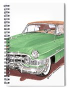 1951 Cadillac Series 62 Convertible Spiral Notebook