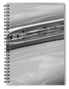 1951 Ford F1 Pickup Truck Bw Spiral Notebook