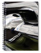 Old Car Grille Spiral Notebook