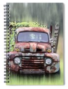 1951 Ford Truck - Found On Road Dead Spiral Notebook