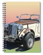 1951 M G T D B Spiral Notebook