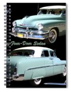 1951 Mercury Come And Going Spiral Notebook