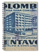 1952 Columbian Stamp Spiral Notebook