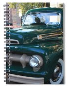 1952  Ford Pick Up Truck Front And Side View Spiral Notebook