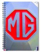 1952 Mg Roadster Emblem Spiral Notebook