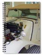 1952 Mg Roadster Spiral Notebook