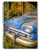 1952 Plymouth Spiral Notebook