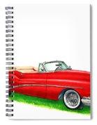1953 Buick Skylark Convertible Spiral Notebook