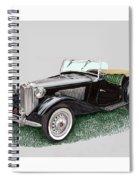 Mg T D 1953 Spiral Notebook