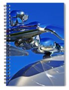 1953 Nash Flying Lady Mascot Spiral Notebook