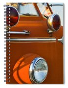 1954 Classic American Lafrance Type 700 Pumper Fire Engine Spiral Notebook