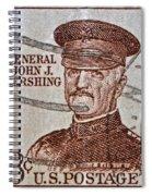 1954 General John J. Pershing Stamp Spiral Notebook
