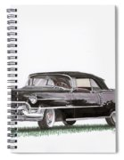 1955 Cadillac Series 62 Convertible Spiral Notebook