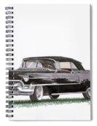 1955 Cadillac Series 62 Convertible Spiral Notebook