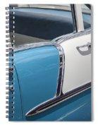 1955 Chevrolet 4 Door Spiral Notebook