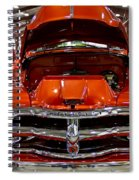 1955 Chevrolet Truck-american Classics-front View Spiral Notebook