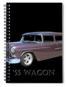 1955 Chevy Handyman Wagon Spiral Notebook