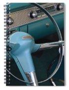 1955 Chevy Nomad Steering Wheel Spiral Notebook