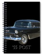 1955 Chevy Post Spiral Notebook