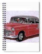 1955 Chevy Post Streeter Spiral Notebook