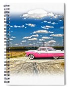 1955 Ford Crown Victoria Crossroads In Life Spiral Notebook